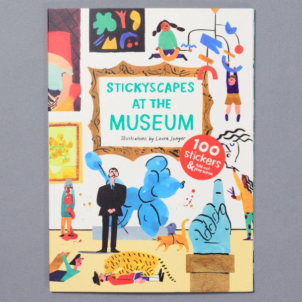 STICKYSCAPES AT THE MUSEUM cover