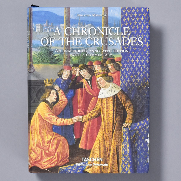 Front of book Chronicle of the Crusades
