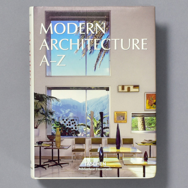 Cover of book Modern Architecture A - Z