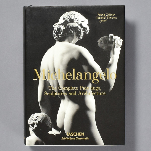 Cover of Michelangelo: The Complete Paintings, Sculptures & Architecture