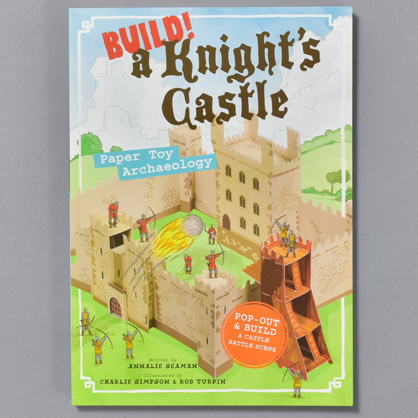 Build A Knights Castle, front
