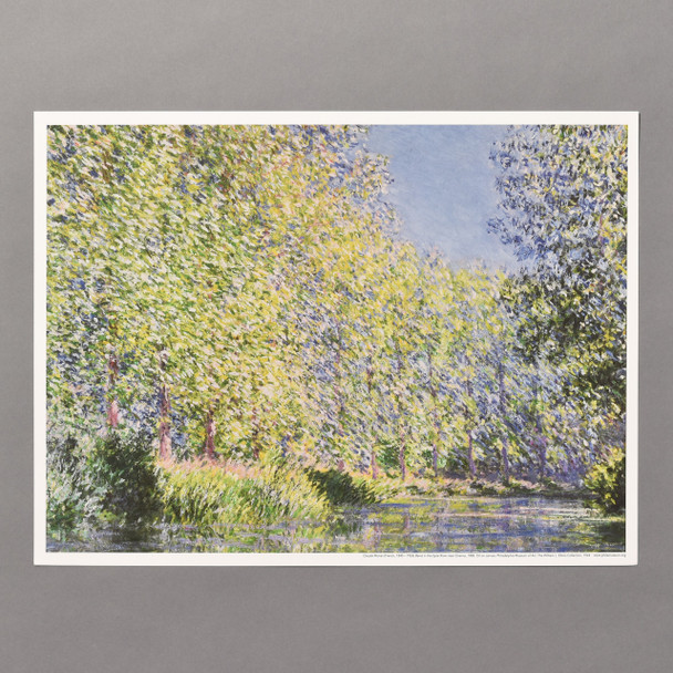 Claude Monet Bend in the Epte River Near Giverny Mini Poster