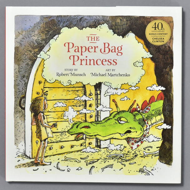 cover of the book Paper Bag Princess: 40th Anniversary Edition