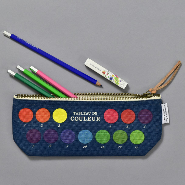 Colors Mini Pouch, with art supplies (sold separately)