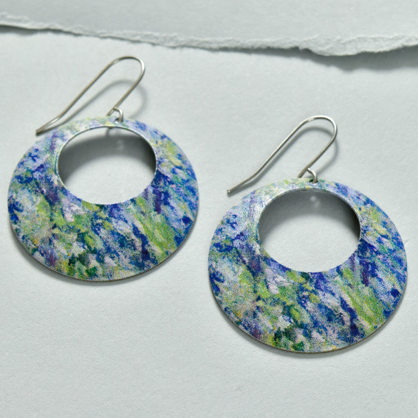 Monet Bend in the Epte River Earrings