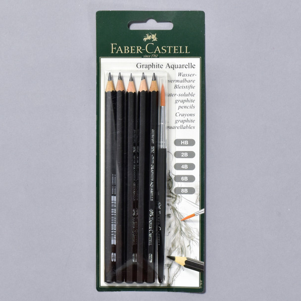 Faber-Castell Water-soluble Graphite Pencils
