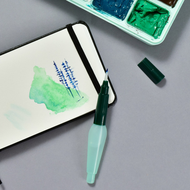 Faber-Castell Water Brush usage