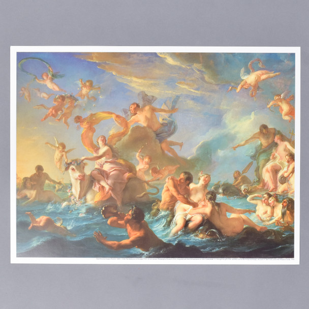Noel-Nicolas Coypel The Abduction of Europe Mini Poster