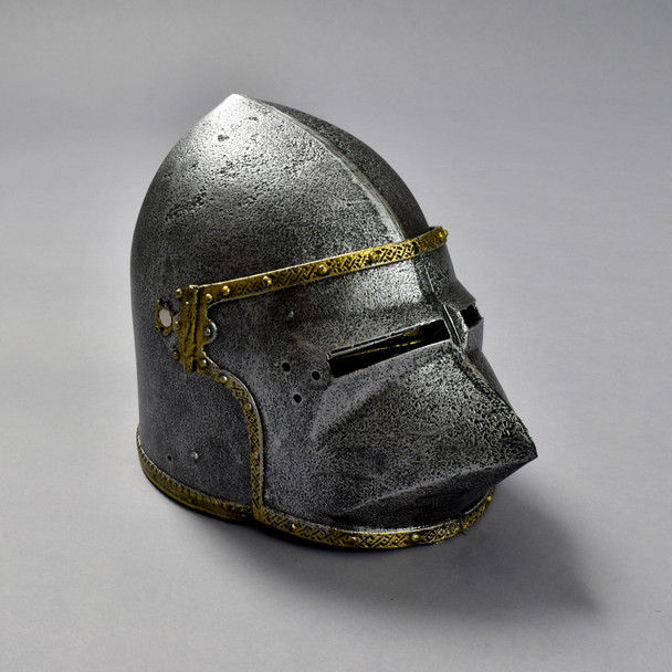 Dog Face Helmet front with shield down