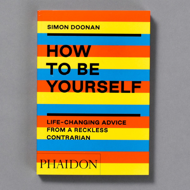 How to Be Yourself book, front