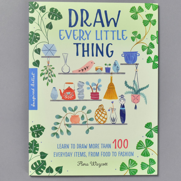 Front of the book Draw Every Little Thing