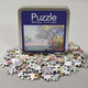 Front of Monet Morning At Antibes Puzzle with pieces