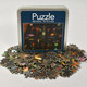 Front of Klee Fish Magic Puzzle with puzzle pieces