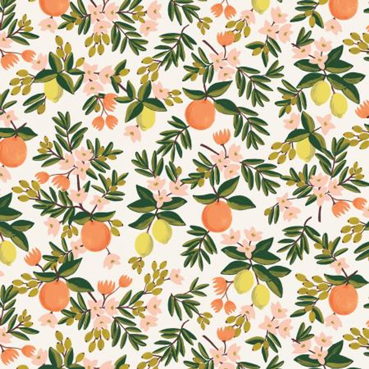 """QUILTERS CANDY, GINGHAM QUILT Kit in WARP and WEFT Ruby Star Society Orange 55"""" x 65"""" (140 x 165 cm)"""