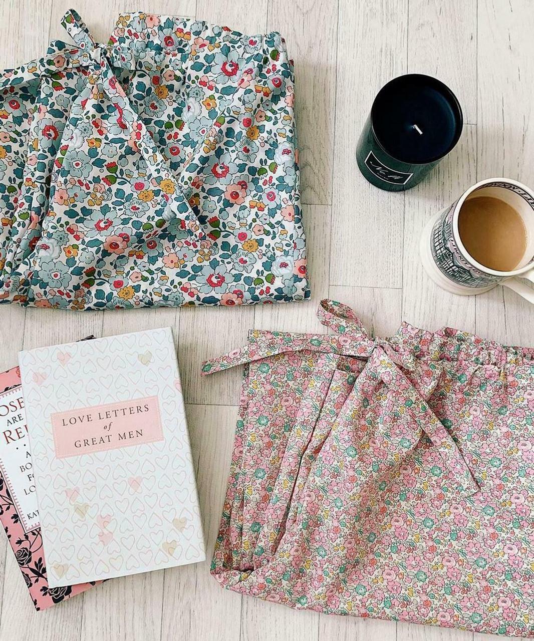 LIBERTY OF LONDON + MARTHA STEWART Drawstring Pajama Pants