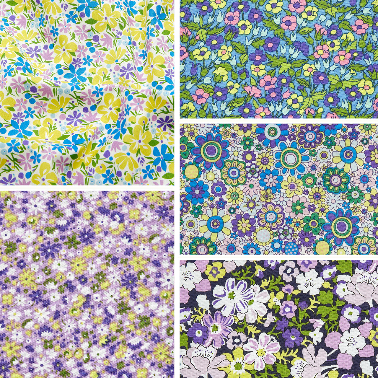 LIBERTY QUILTING, CARNABY COLLECTION Daydream