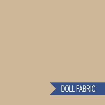 TILDA DOLL FABRIC Biscuit - TILDA BASICS, ELEGANTE VIRGULE CANADA, Canadian Fabric Shop, Quilting Cotton
