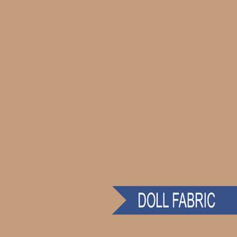 TILDA DOLL FABRIC Caramel - TILDA BASICS, ELEGANTE VIRGULE CANADA, Canadian Fabric Shop, Quilting Cotton