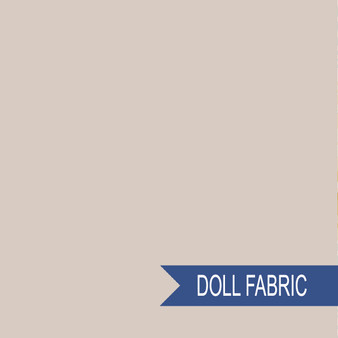 TILDA DOLL FABRIC Sand - TILDA BASICS, ELEGANTE VIRGULE CANADA, Canadian Fabric Shop, Quilting Cotton