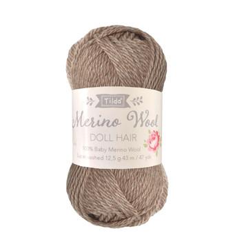 TILDA DOLL HAIR 140053 Ash Blonde - 100% Baby Merino Wool - TILDA BASICS and ACCESSORIES, ELEGANTE VIRGULE CANADA, Canadian Fabric Shop, Quilting Cotton