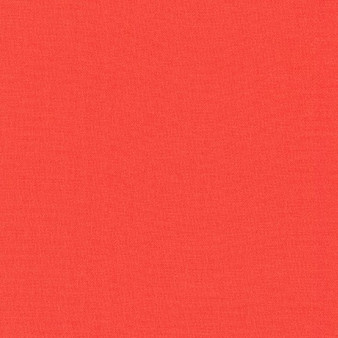 KONA Coral - by the half-meter, ELEGANTE VIRGULE CANADA, Canadian Fabric Quilt Shop, Patchwork, Quilting Cotton
