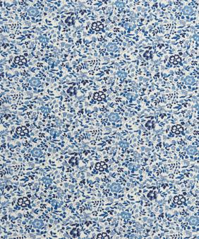 LIBERTY OF LONDON - KATIE AND MILLIE C Blue 100% Cotton Tana Lawn, Per Half-Meter,  CANADIAN SHOP. LIBERTY IN CANADA, Elegante Virgule