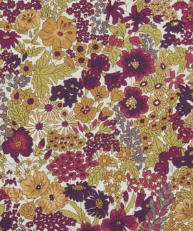 LIBERTY OF LONDON - MARGARET ANNiE Purple 100% Cotton Tana Lawn, Per Half-Meter, CANADIAN SHOP. LIBERTY IN CANADA, Elegante Virgule