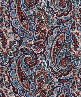 LIBERTY OF LONDON - TESSA Brown Maroon 100% Cotton Tana Lawn, Per Half-Meter, CANADIAN SHOP. LIBERTY IN CANADA, Elegante Virgule