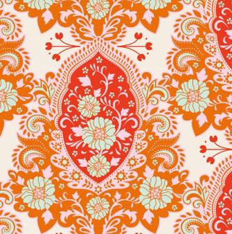 TILDA - SUNKISS Charlotte Ginger 100% Quilting Cotton, Per Half-Meter