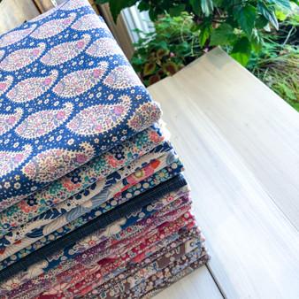 MEADOWLAND TILDA QUILT, Fat Quarter Bundle of 16 Fabrics, 100% Cotton - Elegante Virgule Canada