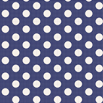 TILDA Medium Dots in Night Blue, 100% Cotton. TILDA BASICS, Elegante Virgule Canada
