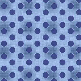 TILDA Medium Dots in Denim Blue, 100% Cotton. TILDA BASICS, Elegante Virgule Canada