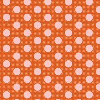 TILDA Medium Dots in Ginger, 100% Cotton. TILDA BASICS, Elegante Virgule Canada