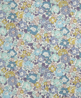 LIBERTY OF LONDON - MICHELLE D Purple 100% Cotton Tana Lawn, Per Half-Meter,  CANADIAN SHOP. LIBERTY IN CANADA, Elegante Virgule