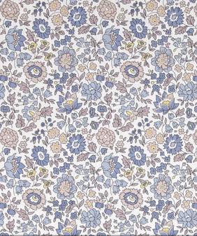 LIBERTY OF LONDON - D'ANJO E Grey Gray 100% Cotton Tana Lawn, Per Half-Meter, CANADIAN SHOP. LIBERTY IN CANADA, Elegante Virgule