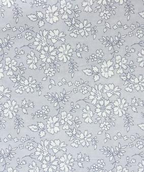 LIBERTY OF LONDON - CAPEL K Grey 100% Cotton Tana Lawn, Per Half-Meter, CANADIAN SHOP. LIBERTY IN CANADA, Elegante Virgule