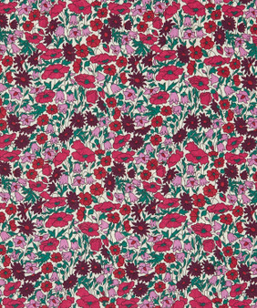 Elegante Virgule, LIBERTY OF LONDON - Petal and Bud B 100% Cotton Tana Lawn, Per Half-Meter