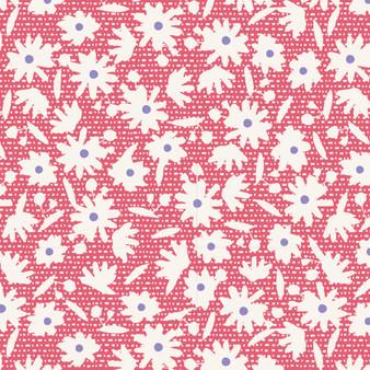 TILDA  BON VOYAGE, Paperflower in Red, Elegante Virgule Canada