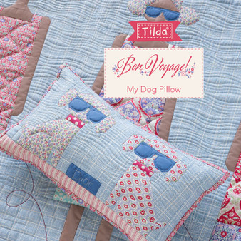 TILDA  BON VOYAGE, My Dog Pillow Kit DIY, Elegante Virgule Canada