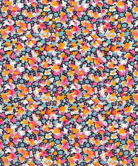 LIBERTY OF LONDON - PEPPER K Coral Pink Brown 100% Cotton Tana Lawn, Per Half-Meter, CANADIAN SHOP. LIBERTY IN CANADA, Elegante Virgule, Quilting Cotton Shop