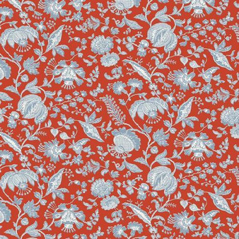 LIBERTY OF LONDON Quilting cotton, Victoria Floral Y in Red, ELEGANTE VIRGULE CANADA, Canadian Fabric Shop