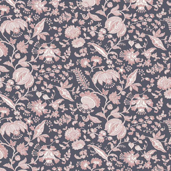 LIBERTY OF LONDON Quilting cotton, Victoria Floral Z in Pink and Grey, ELEGANTE VIRGULE, Canadian Fabric Shop