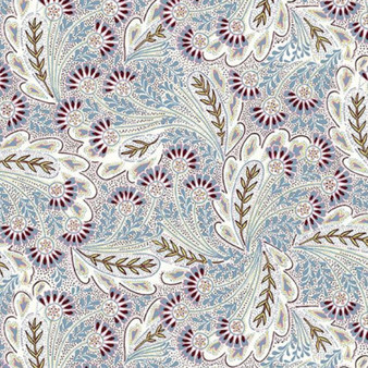 LIBERTY OF LONDON Quilting cotton, Feather Dance Z in Lavender, ELEGANTE VIRGULE, Canadian Fabric Shop