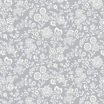 LIBERTY OF LONDON Quilting cotton, Victoria Floral Y in Red, ELEGANTE VIRGULE, Canadian Fabric Shop