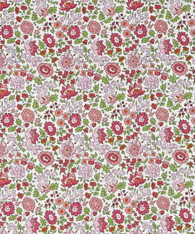 LIBERTY OF LONDON - D'ANJO C Pink 100% Cotton Tana Lawn, Per Half-Meter, CANADIAN SHOP. LIBERTY IN CANADA, Elegante Virgule