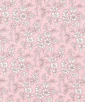 LIBERTY OF LONDON - CAPEL S Pink 100% Cotton Tana Lawn, Per Half-Meter, CANADIAN SHOP. LIBERTY IN CANADA, Elegante Virgule