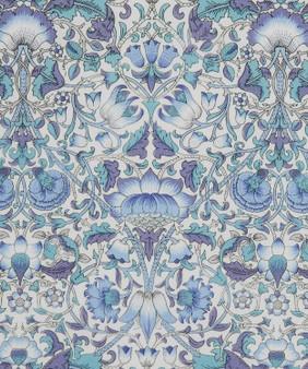 LIBERTY OF LONDON - LODDEN E Blue 100% Cotton Tana Lawn, Per Half-Meter. Elegante Virgule Canada, CANADIAN FABRIC SHOP. Quilt Shop