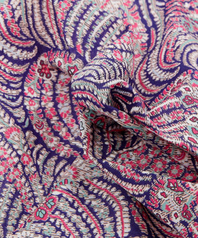 LIBERTY OF LONDON - OSCAR C Pink, 100% Cotton Tana Lawn, Per Half-Meter, CANADIAN SHOP. LIBERTY IN CANADA, Elegante Virgule, Quilting Shop