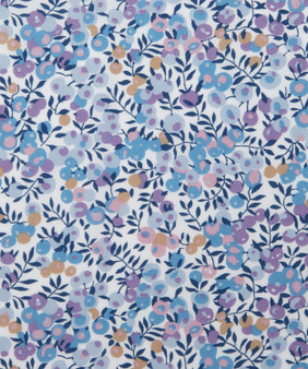 LIBERTY OF LONDON - WILTSHIRE E Pastel Blue 100% Cotton Tana Lawn, Per Half-Meter. CANADIAN SHOP. LIBERTY IN CANADA, Elegante Virgule, Quilting Shop