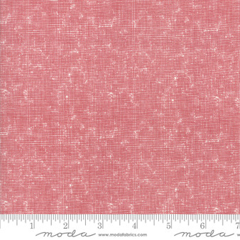 MODA SWEETWATER Branded, MICRO CHECK in Cream & Apple Red - ELEGANTE VIRGULE CANADA, CANADIAN FABRIC SHOP, Quilting Cotton